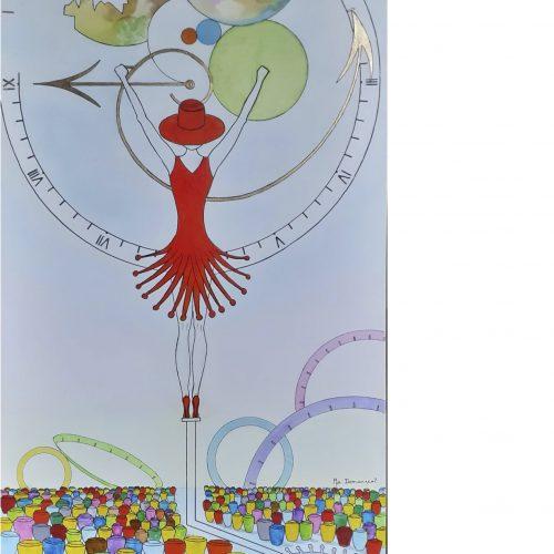 LA DEUXIEME VAGUE - 120 x 60 cm