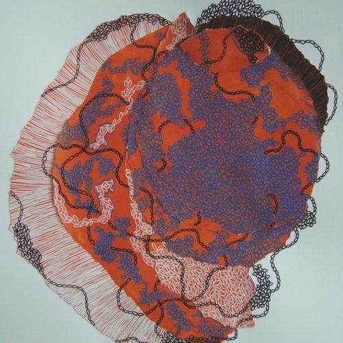 Collage avec techniques mixtes14 05 2020 Acrylique et crayons Posca